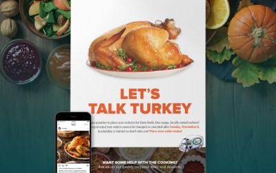 South Mountain Creamery Turkey Drive Promotion