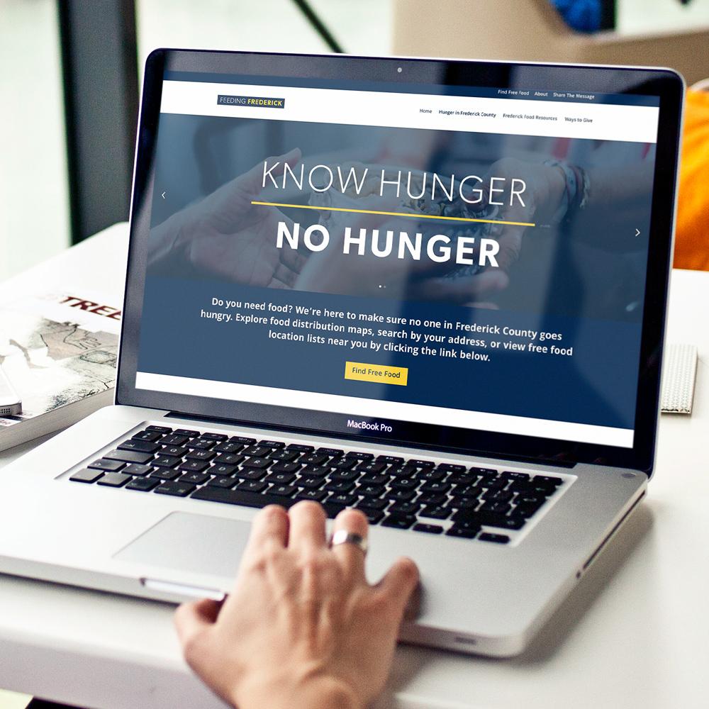 Feeding Frederick website