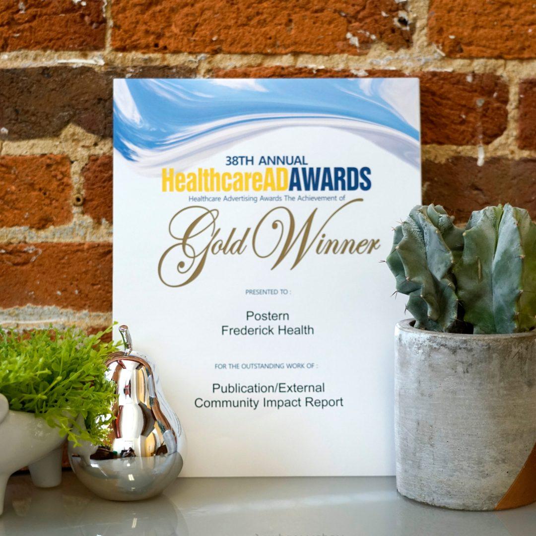 Frederick Health Community Impact Report Award