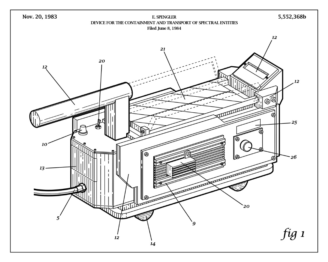Timothy Anderson Releases His Ghostbusters Patent