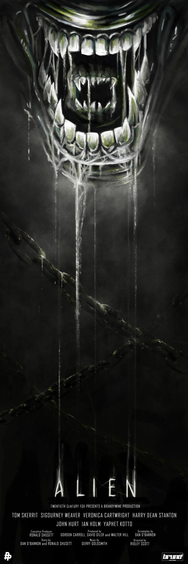 Poster Posse Project #13 Pays Homage 35th Anniversary Of Alien Phase 1