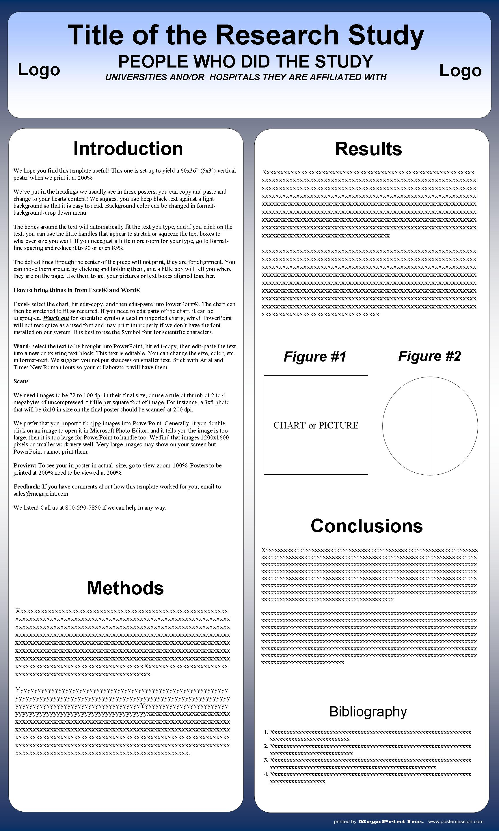 Poster Templates You Can Change Them! Postersession