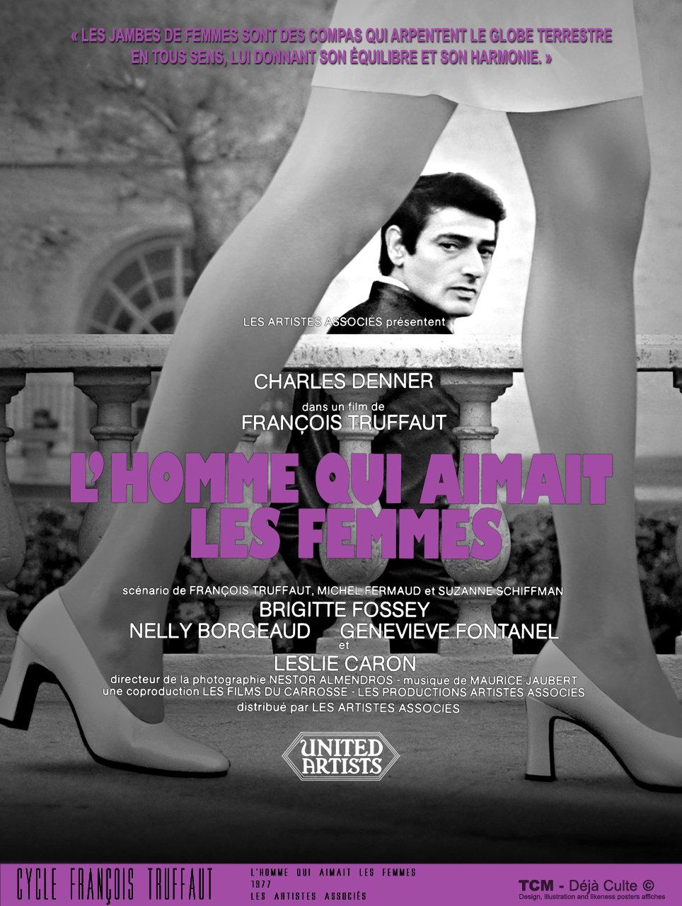 L'homme Qui Aimait Les Femmes : l'homme, aimait, femmes, L'Homme, Aimait, Femmes, Loved, Women), François, Truffaut, PosterSpy