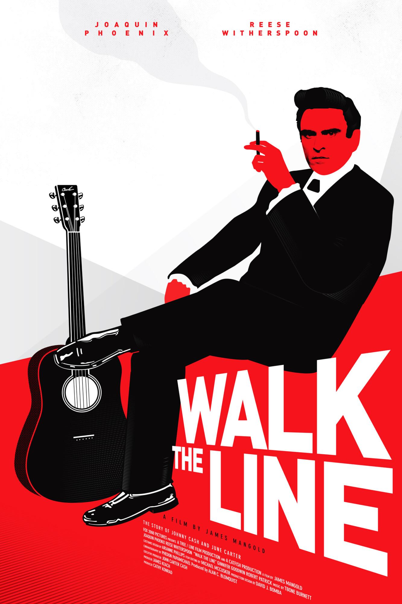 Johnny Cash Walk The Line : johnny, PosterSpy