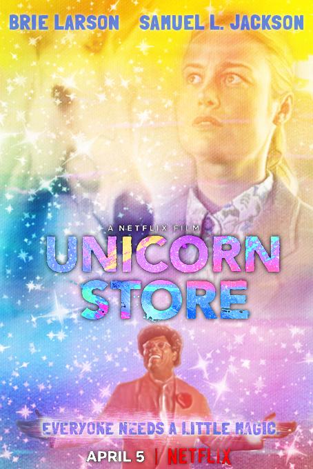 unicorn store netflix movie poster