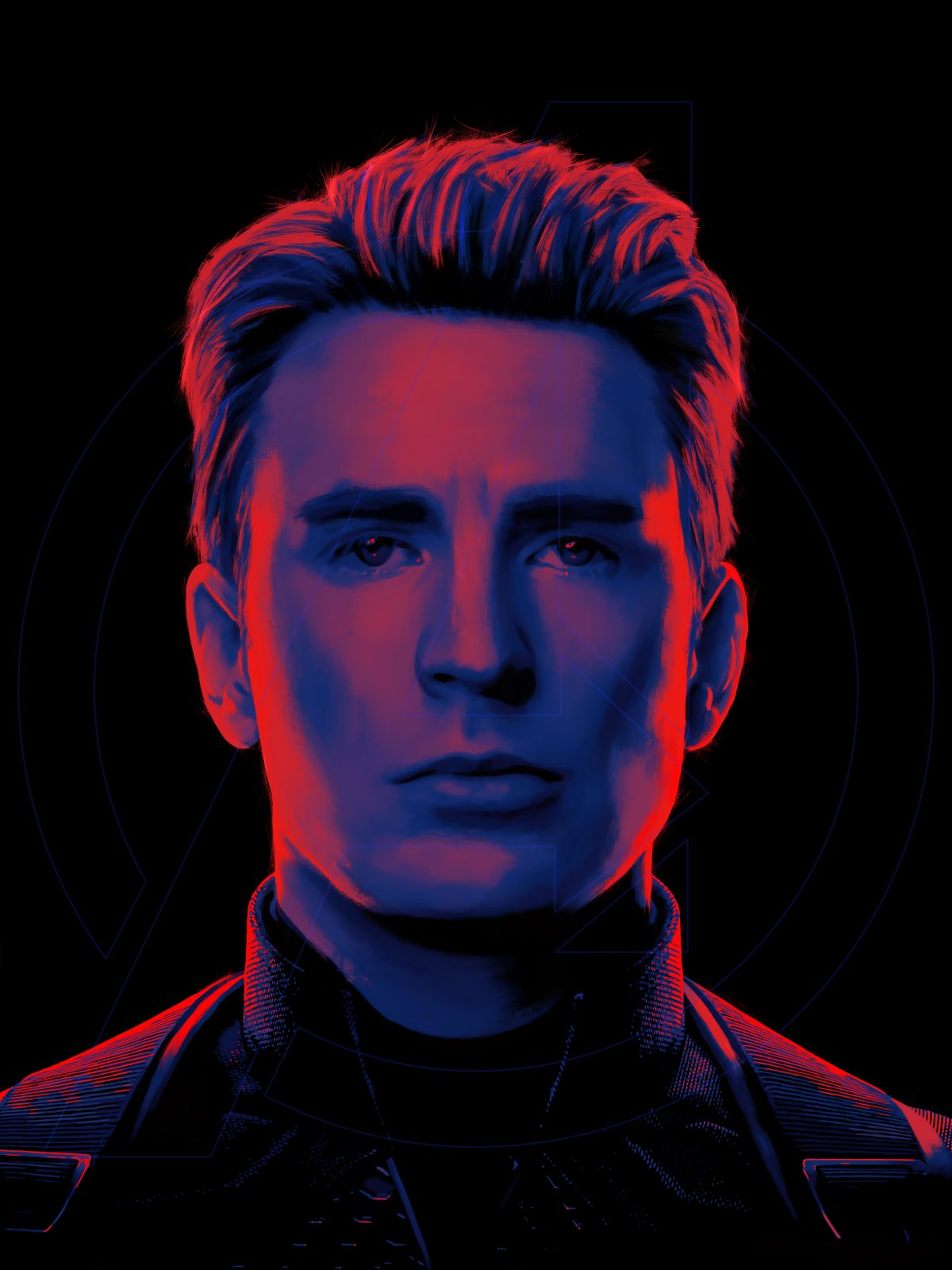 Captain America Portrait Posterspy