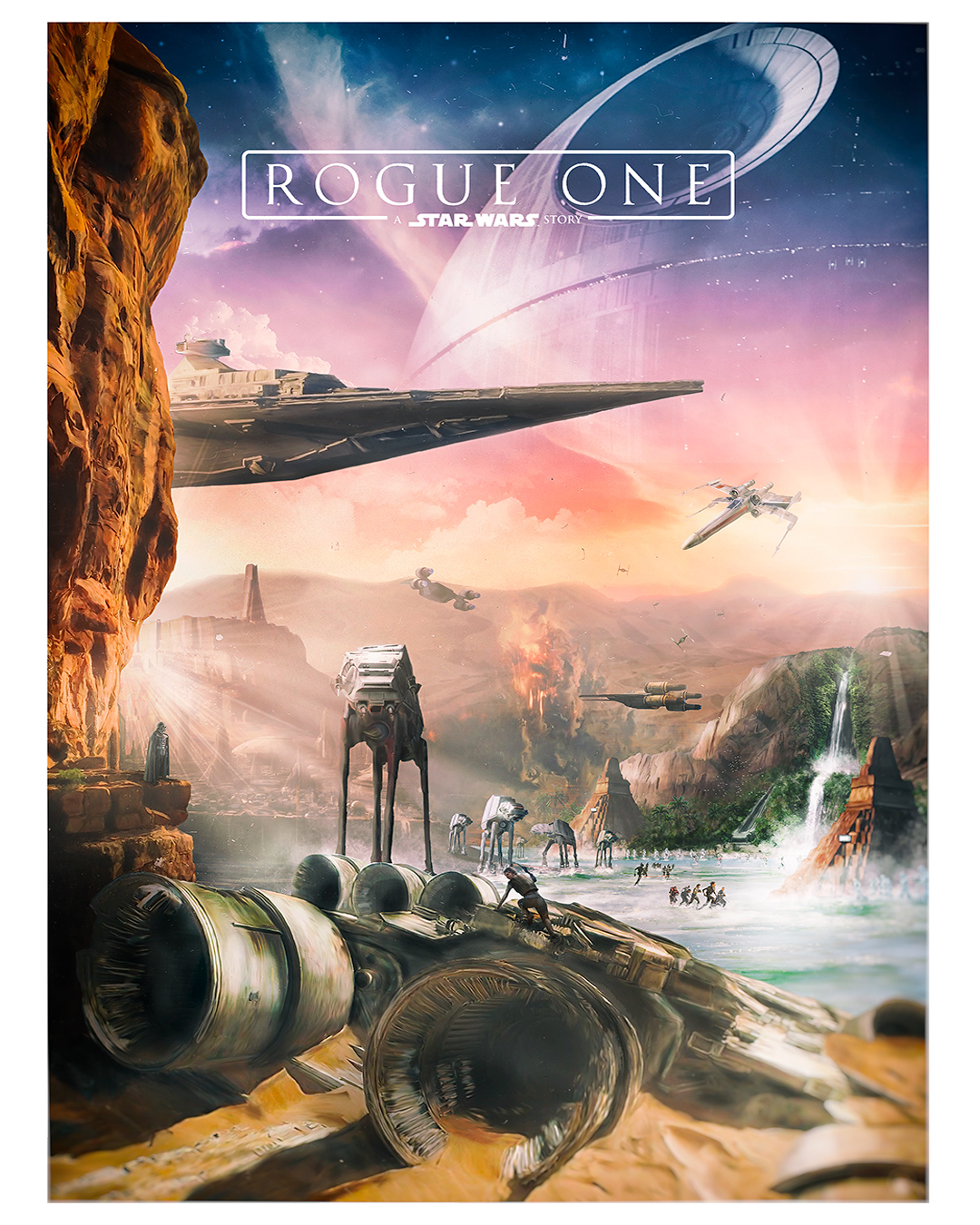 rogue one a star wars story posterspy