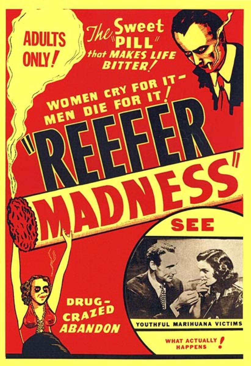 Reefer Madness  Posterwirecom