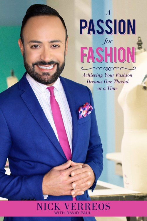#fashionbook #review cover of fashion book Passion for Fashion by Nick Verros