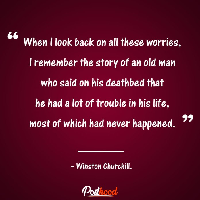 Winston Churchill. Motivational Quotes for stress relief. Quotes to Relieve Stress.