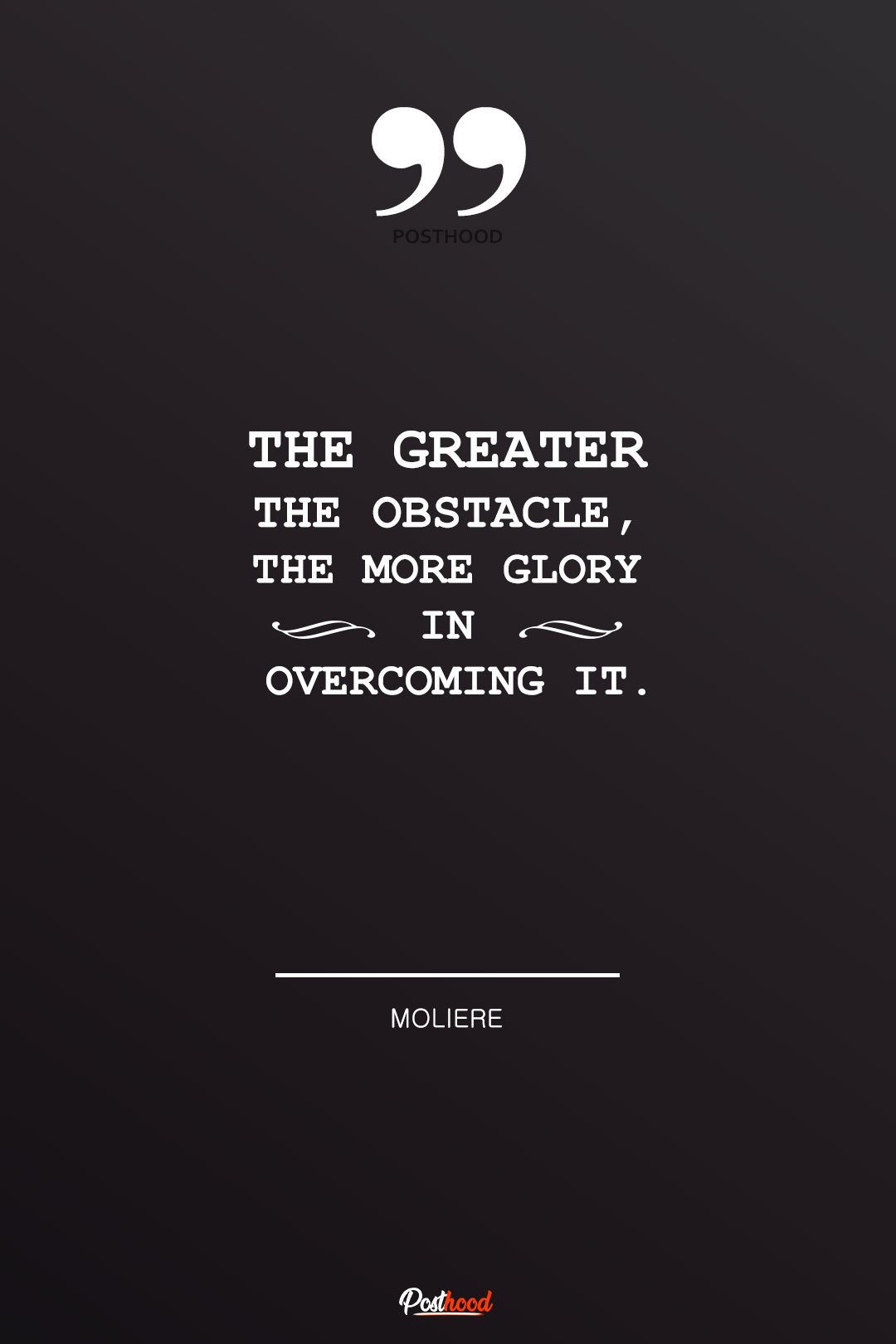 Obstacle Quotes : obstacle, quotes, Inspirational, Quotes, Overcoming, Obstacles, Posthood