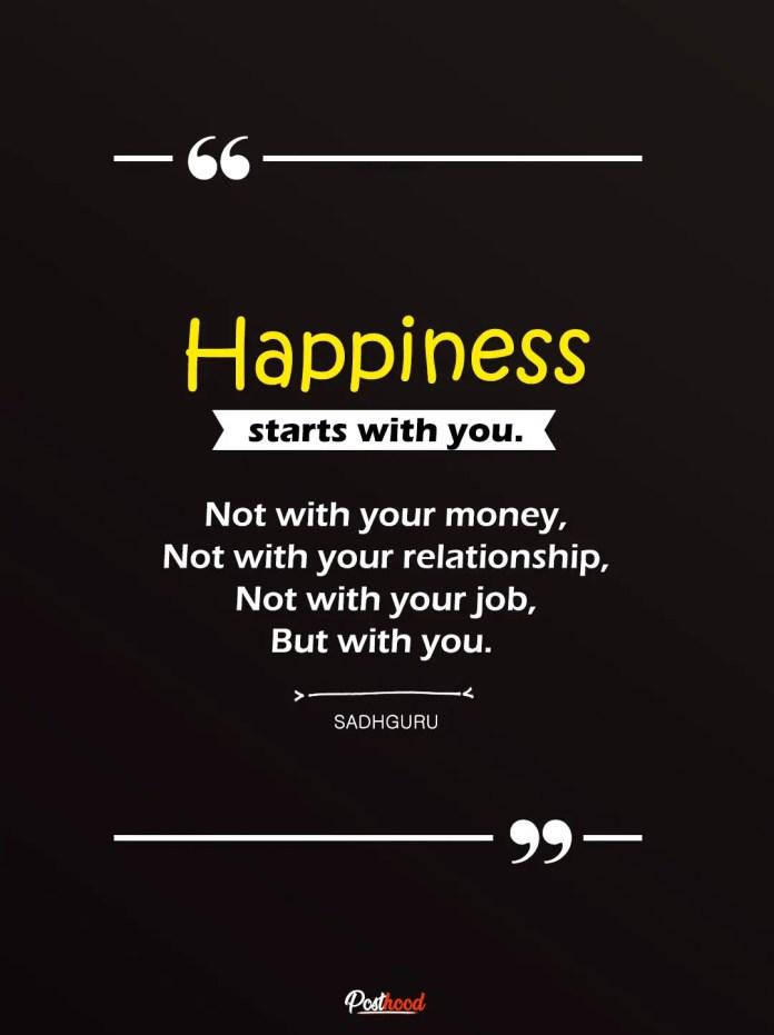 50 Sadhguru Quotes On Love Life And Happiness Posthood