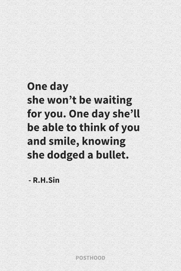 40 powerful badass quotes every woman must read after a heartbreak and leaving a toxic relationship. Best r.h.sin quotes about strong women.