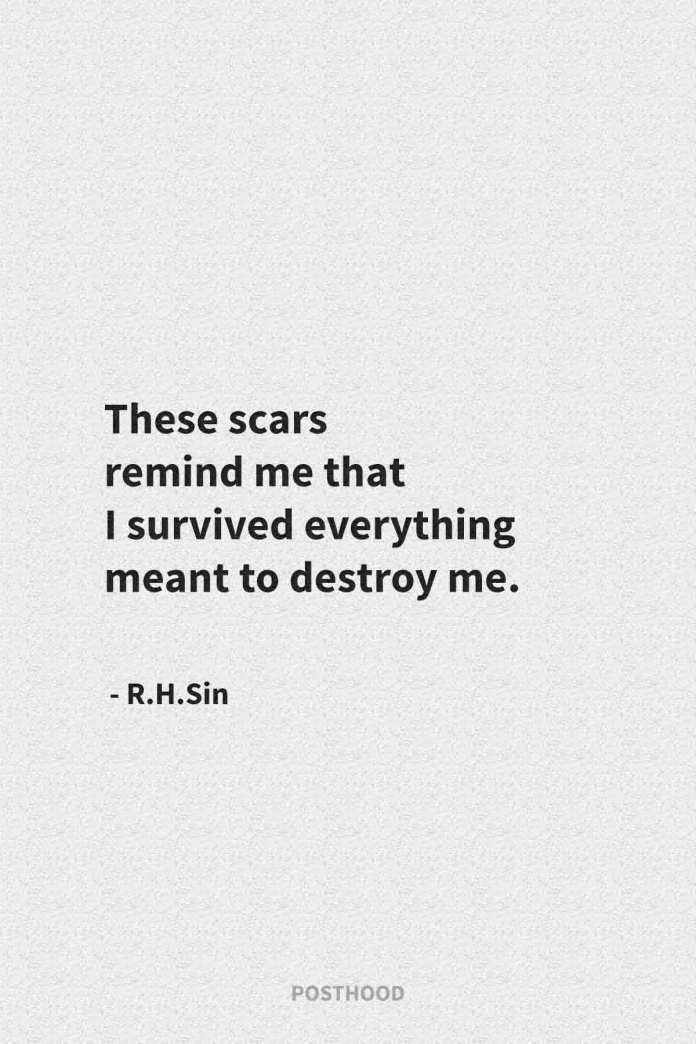 Move on from a toxic relationship with these powerful and inspirational R.H.Sin quotes that guaranteed strengthen you.