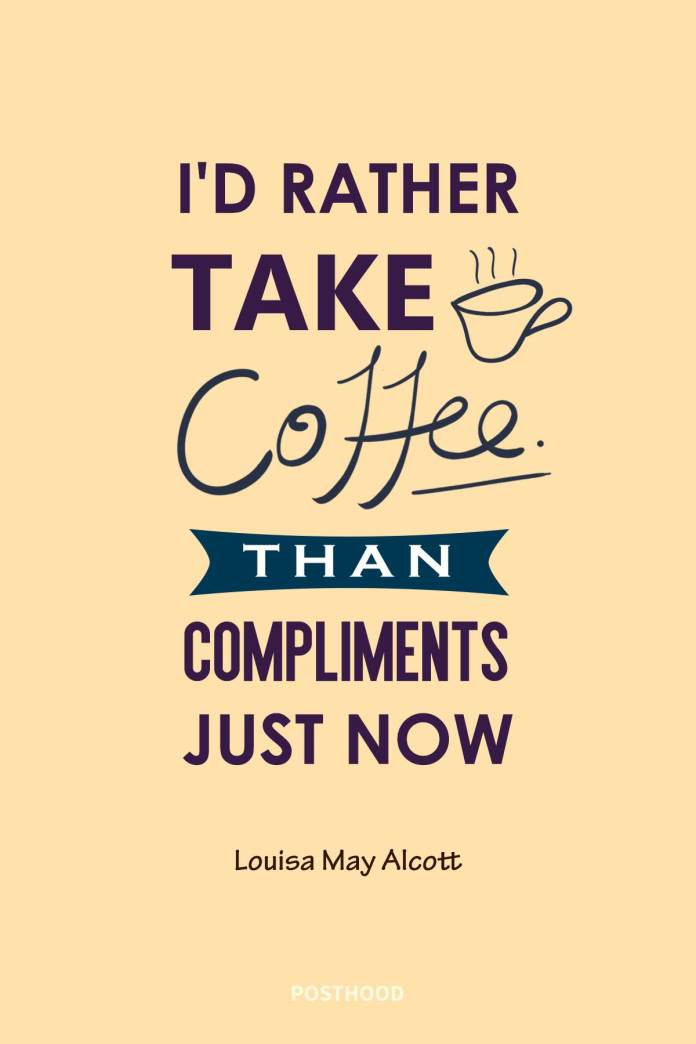 80 Fun and love coffee quotes that will express your immense love for coffee. Cheer up your coffee attitude with these humorous coffee quotes.