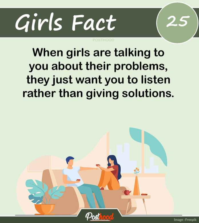 Know a woman's psychology when she is sad and stressed. These amazing girls' facts will help you to understand her deeply.
