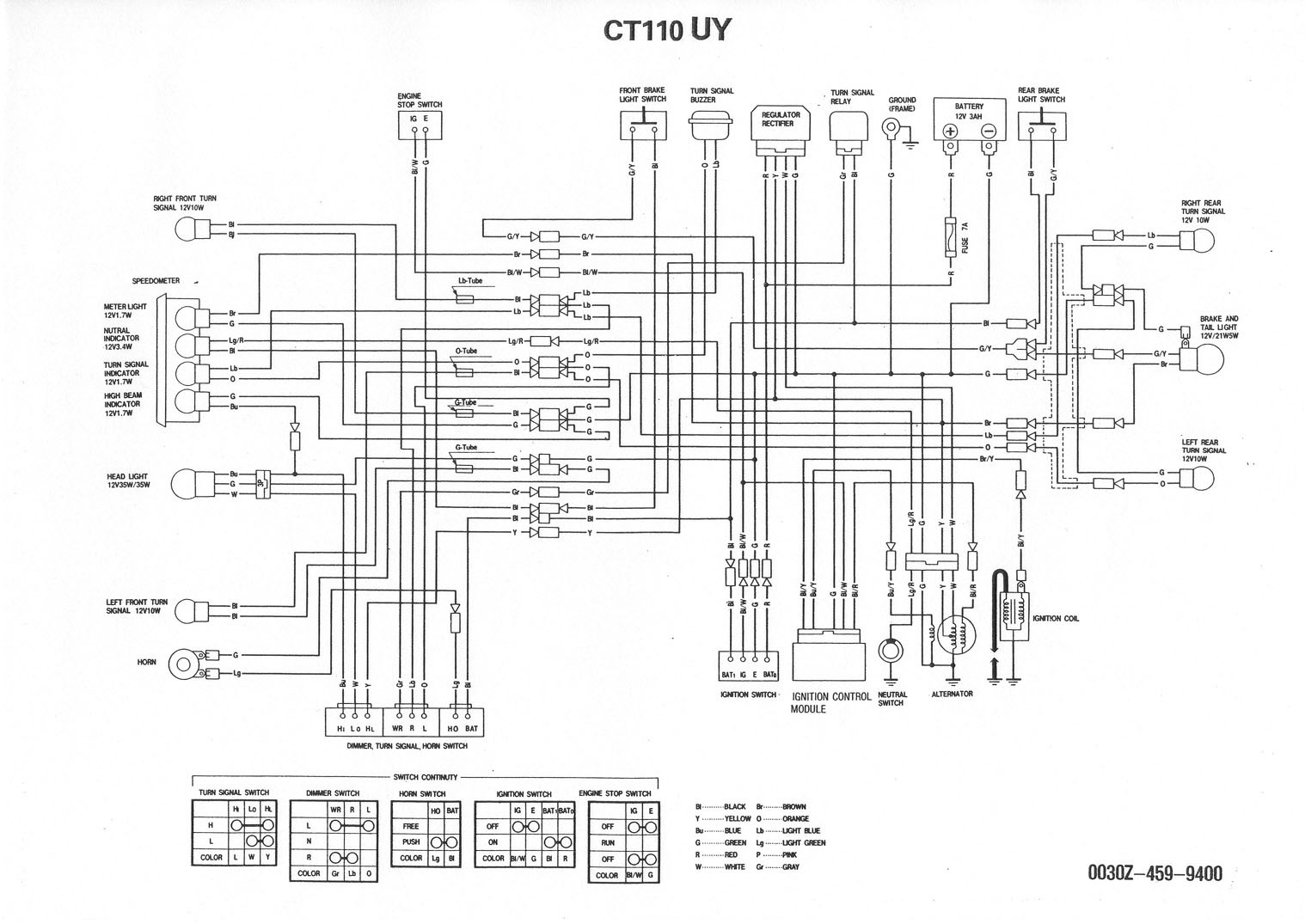 ct90 wiring diagram subaru impreza stereo honda ct110 free engine image for