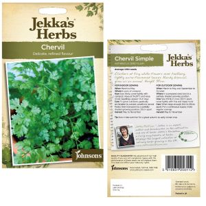 Jekka's Herbs - Chervil Seeds by Johnsons