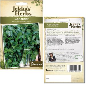 Jekka's Herbs - Coriander Seeds by Johnsons