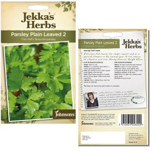 Jekka's Herbs - Parsley Plain Leaved 2 Seeds by Johnsons