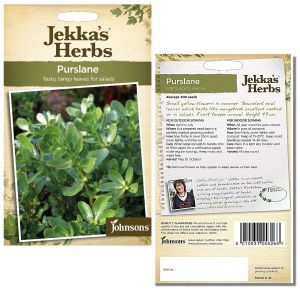 Jekka's Herbs - Purslane Seeds by Johnsons