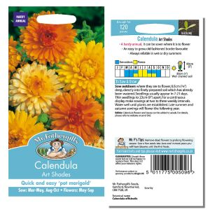 Mr. Fothergill's Seeds - Calendula Art Shades