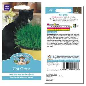 Mr. Fothergill's Seeds - Cat Grass (Avena sativa)