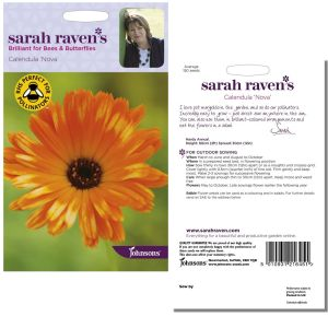 Sarah Raven's Calendula 'Nova' Seeds by Johnsons