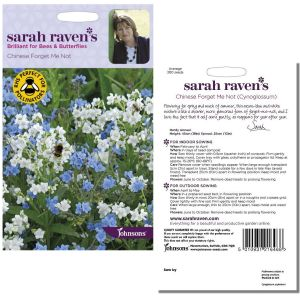Sarah Raven's Chinese Forget Me Not Seeds by Johnsons