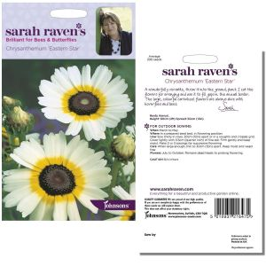 Sarah Raven's Chrysanthemum 'Eastern Star' Seeds by Johnsons