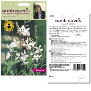 Sarah Raven's Gaura 'The Bride' Seeds by Johnsons