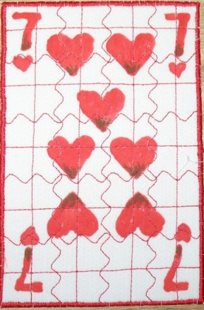 Maureen Egan, 7 of Hearts