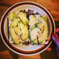 Avocado on Wassa Toast