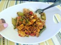 Peas & Chicken Stir-fry