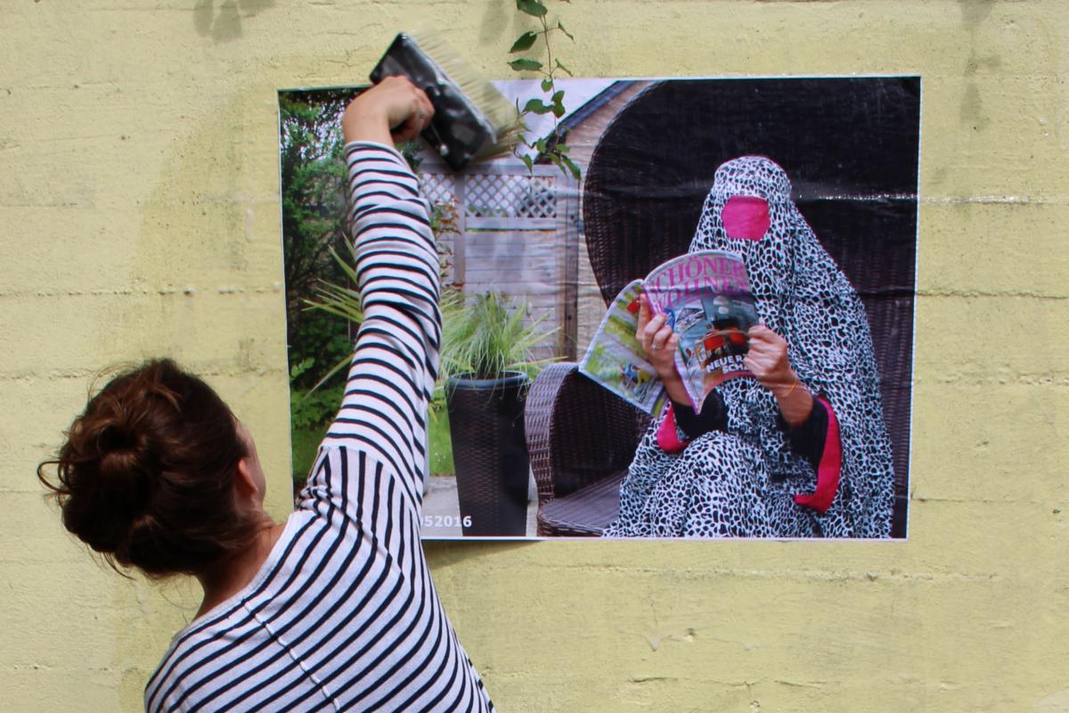 "Maria Wende: ""IDEA.fabric"" - Urbane Symptome im dörflichen Idyll"