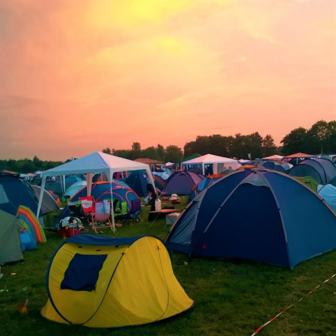 Kosmonaut Festival 2016 Zeltplatz