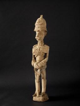 Colon-Figur - Offizier, Nigeria oder Kamerun, um 1900 © Deutsches Historisches Museum