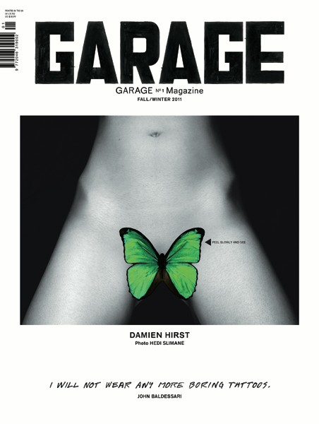 Hirst Butterfly Divided Garage Magazine