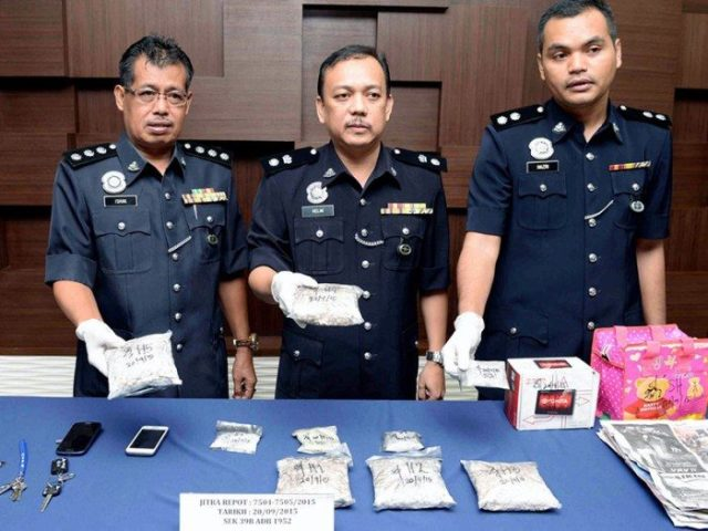 Police detain 2,000 drug users, traffickers in 3 days