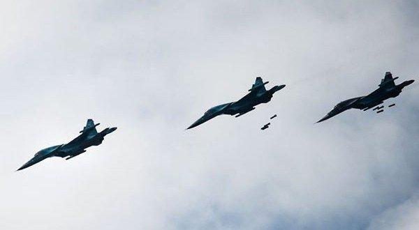 Russian-airstrikes-over-Idlib