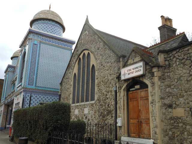 Stoke Newington Mosque&Church