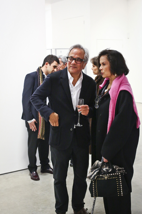 Sir Anish Kapoor and Bianca Jagger