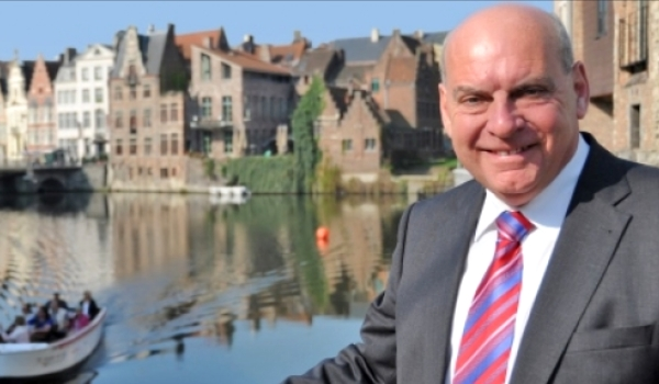 2. Daniël Termont, Mayor of Ghent, Belgium