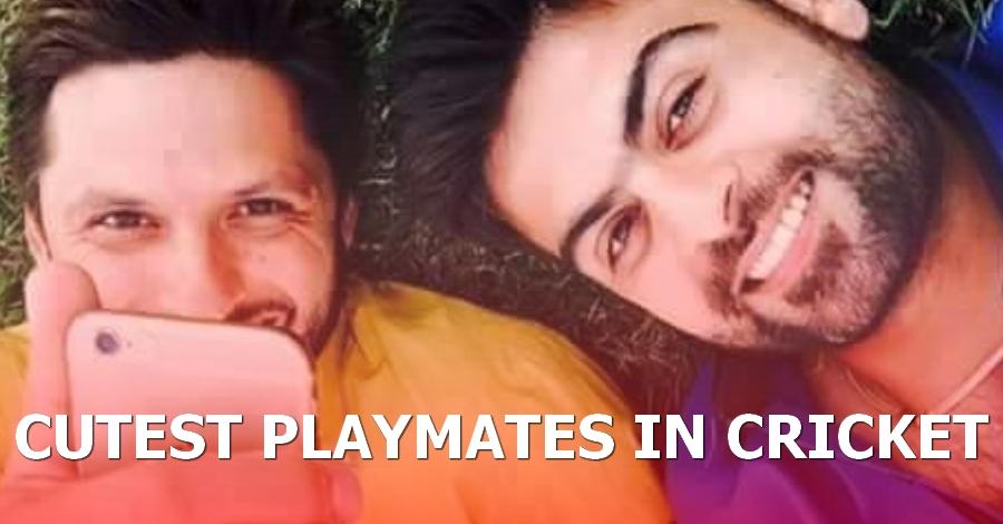 Shahid Afridi & Ahmed Shahzad - The Cutest Playmates in Cricket History?