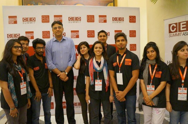 PTI politician Asad Umar at CEO Summit