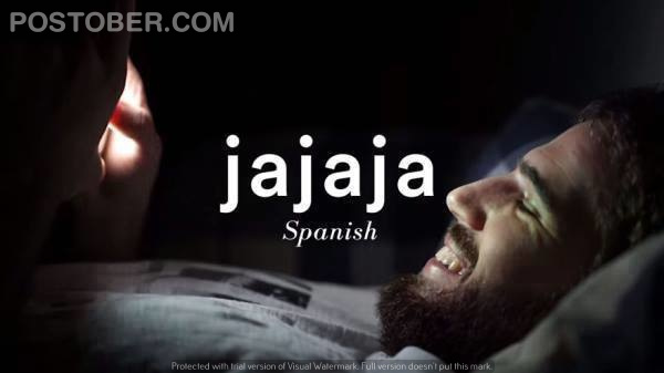This is how people laugh in Spainish
