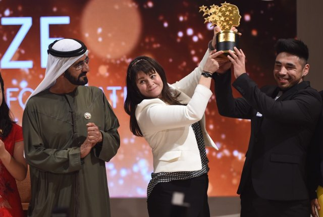Global Teacher Prize 2017 Winner