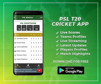 Download PSL T20 Android App