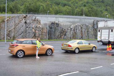 La nostra auto per Capo Nord