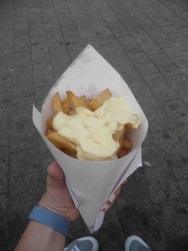 Le frites più buone della mia vita